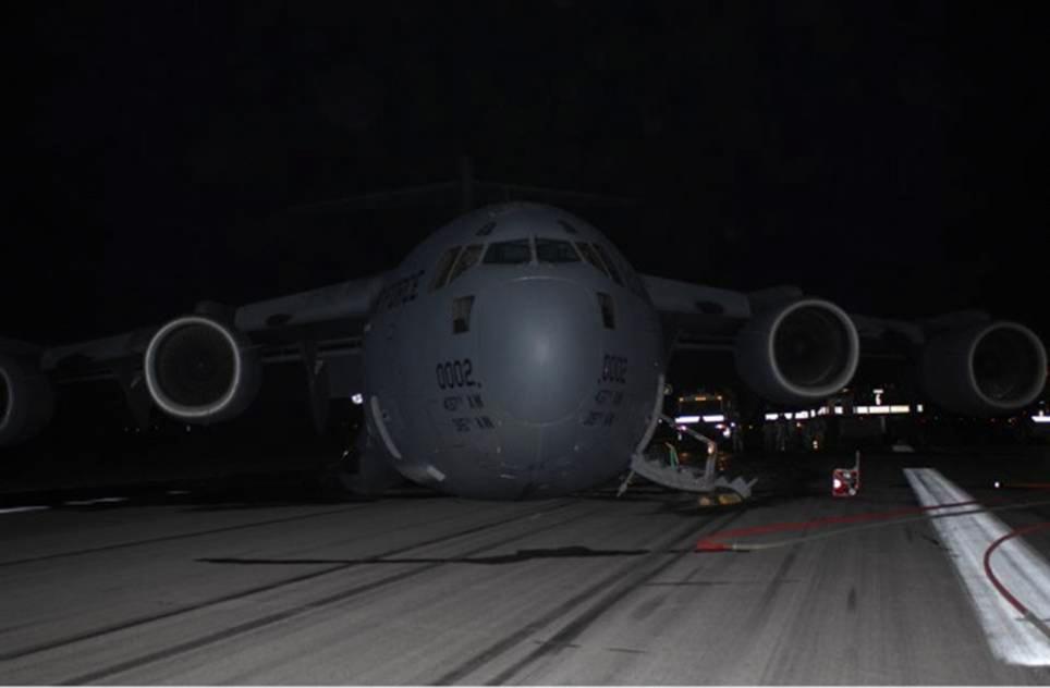 More Photos Little Information From C 17 Crash At Bagram